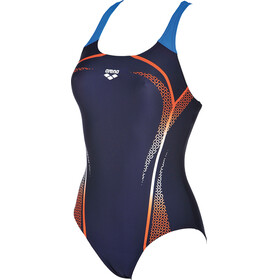arena Modular One Piece Swimsuit Women navy-mango